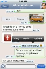 WhatsApp heute kostenlos (iPhone)