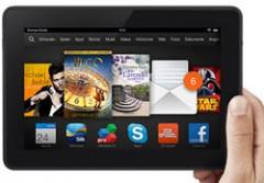 Amazon verkauft neue Kindle Fire HDX in Deutschland